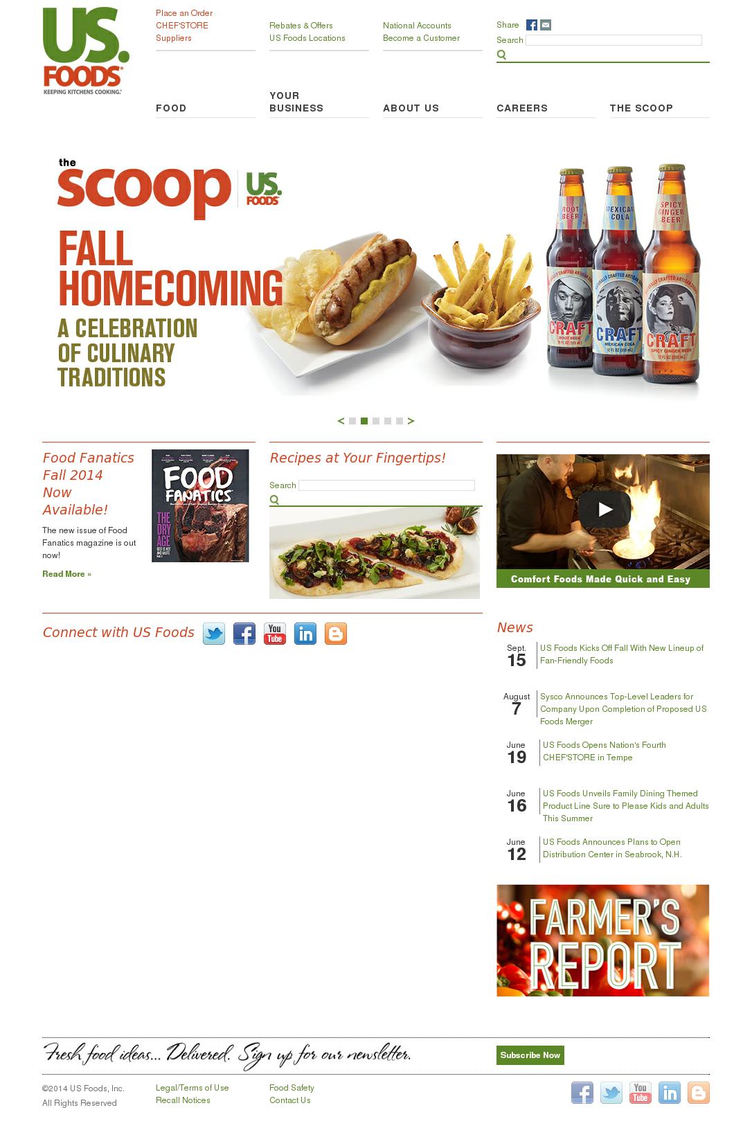 us foods competitors | Foodstutorial org