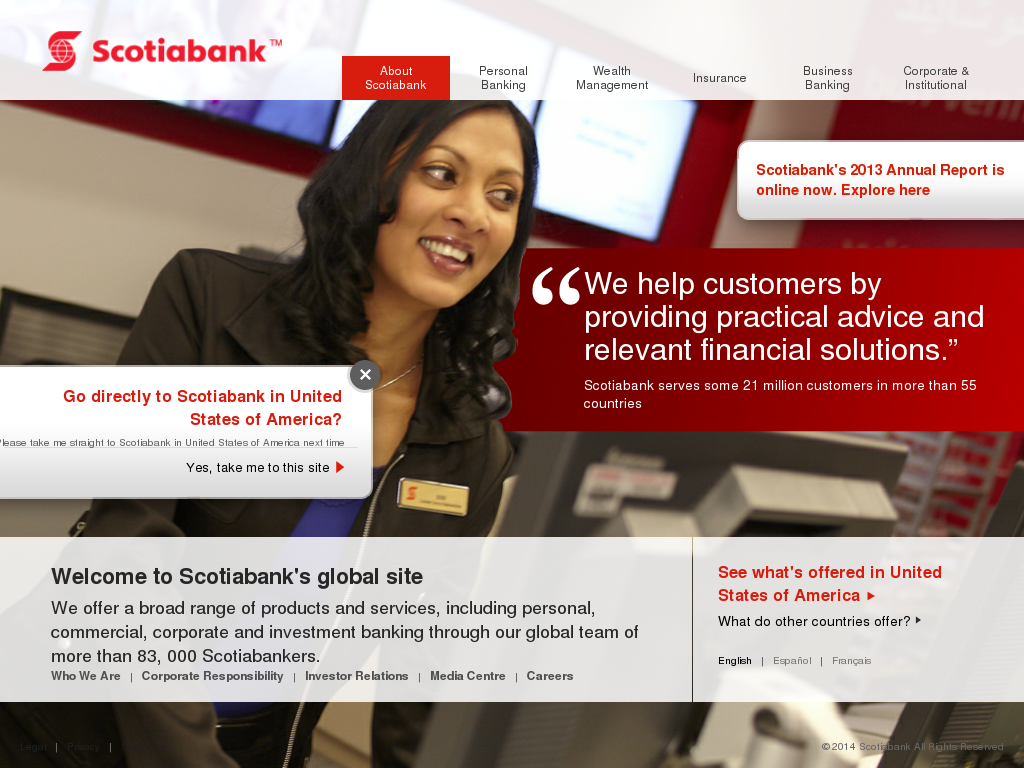 Scotiabank business model yahoo login javascript