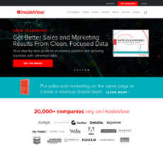 InsideView website history