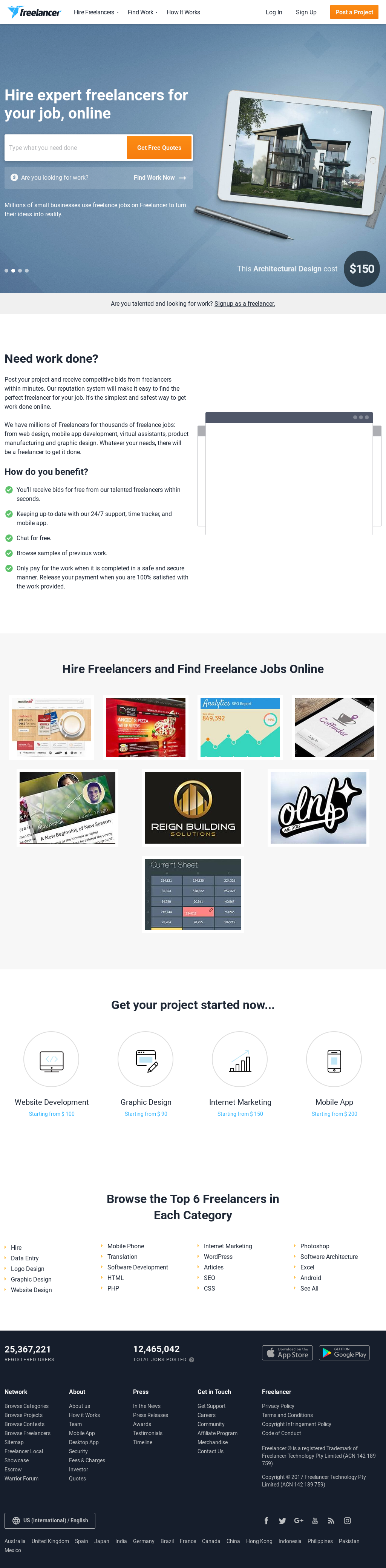 Freelancer Competitors, Revenue and Employees - Owler Company Profile