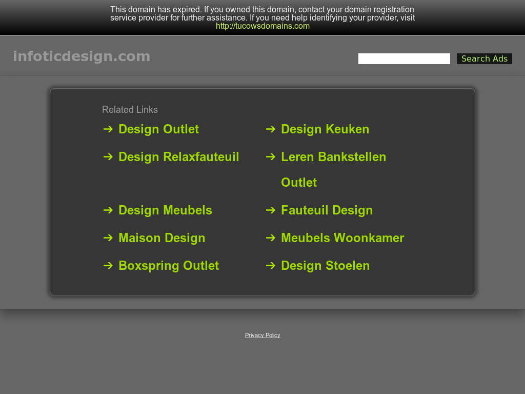 Outlet Stoelen Design.Infotic Design Competitors Revenue And Employees Owler Company