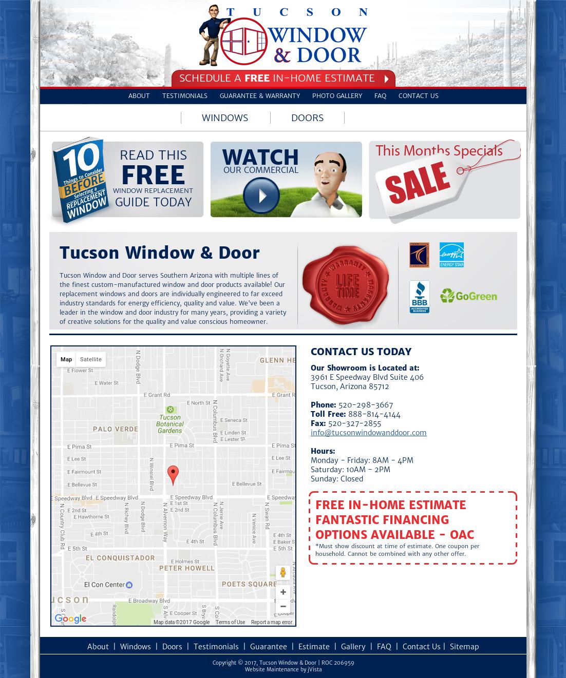 Tucson Window U0026 Door Competitors, Revenue And Employees   Owler Company  Profile