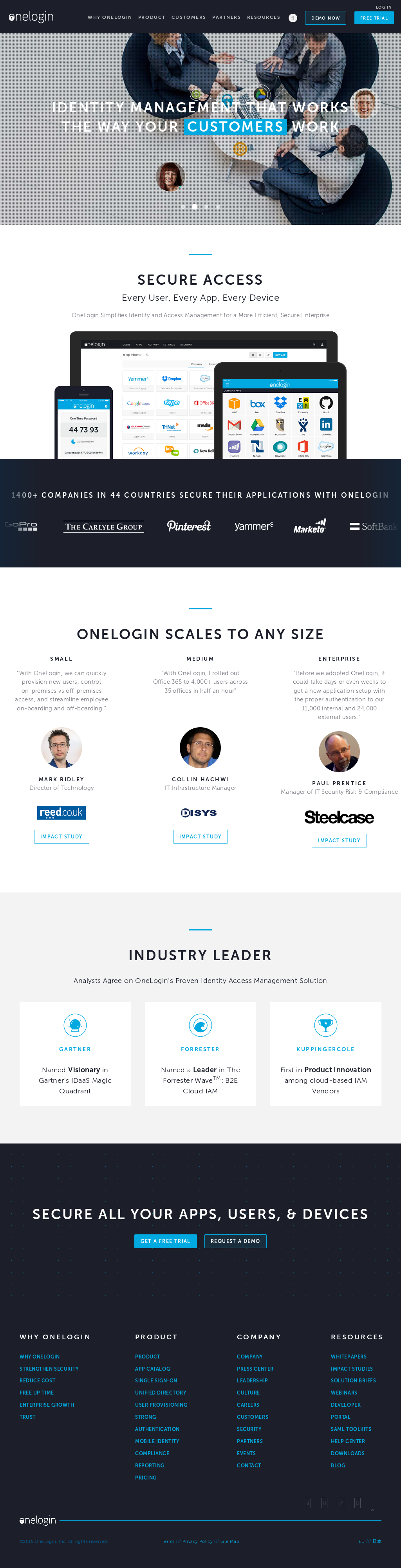 OneLogin Competitors, Revenue and Employees - Owler Company Profile