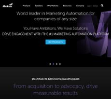 Marketo website history