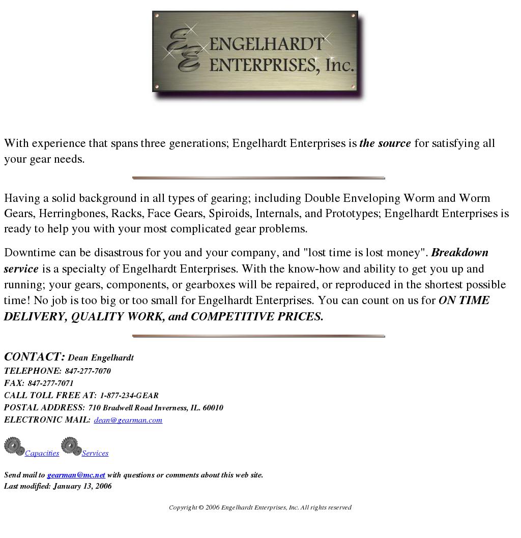 Engelhardt Enterprises Competitors, Revenue and Employees