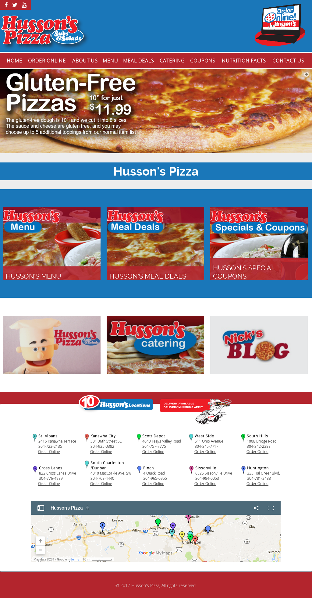 Husson's Pizza Competitors, Revenue and Employees - Owler