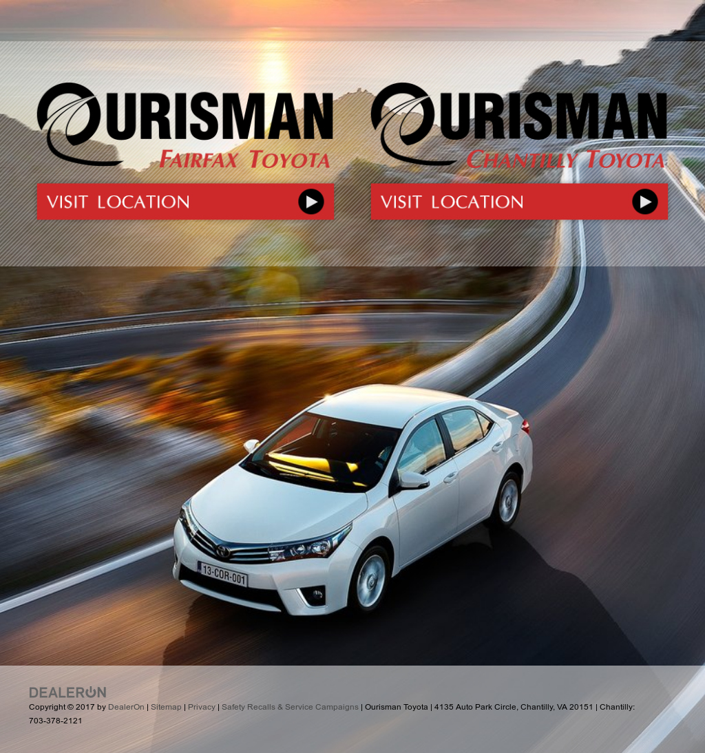 Ourisman Toyota Chantilly >> Ourisman Toyota Competitors Revenue And Employees Owler