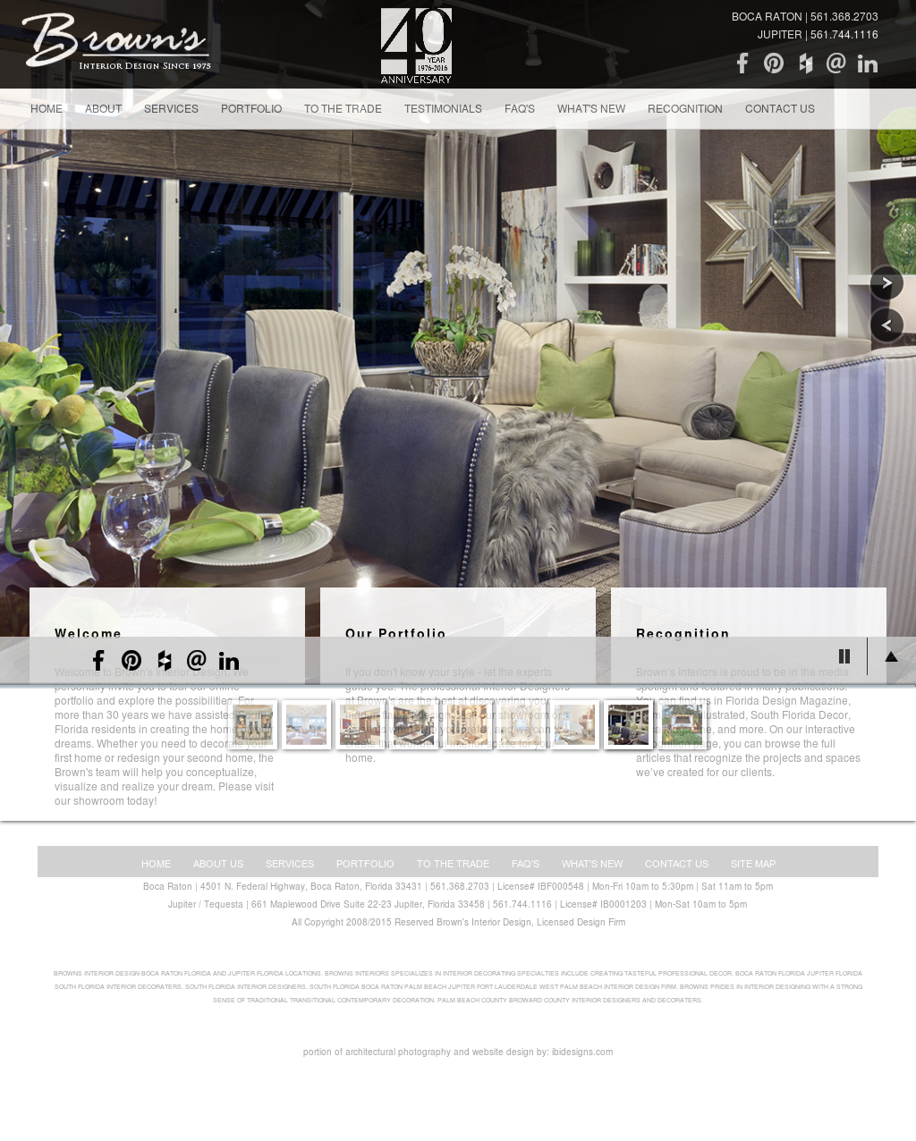 Florida Design Magazine Wfnhfo Browns Interior Competitors Revenue And Employees Owler Company Website History With South