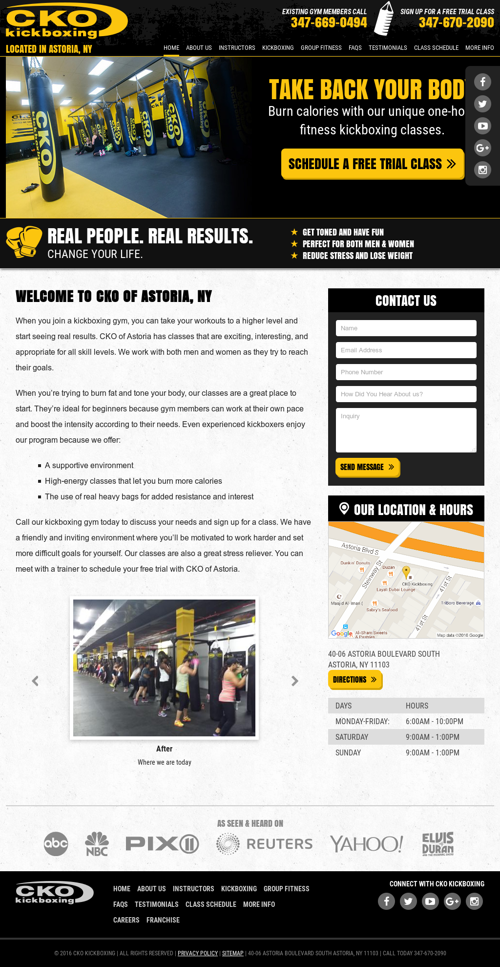 Cko Kickboxing Of Astoria Competitors, Revenue and Employees - Owler