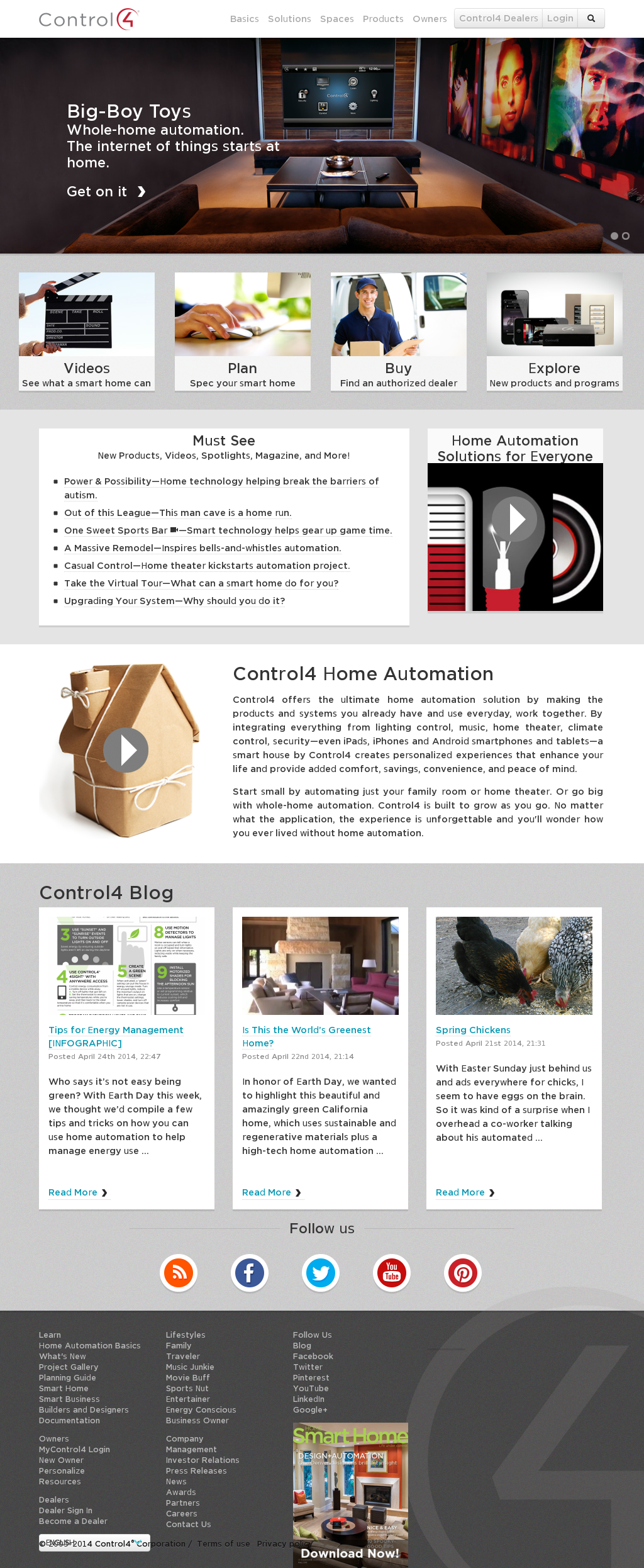 Control4 website history & Control4 Competitors Revenue and Employees - Company Profile on Owler