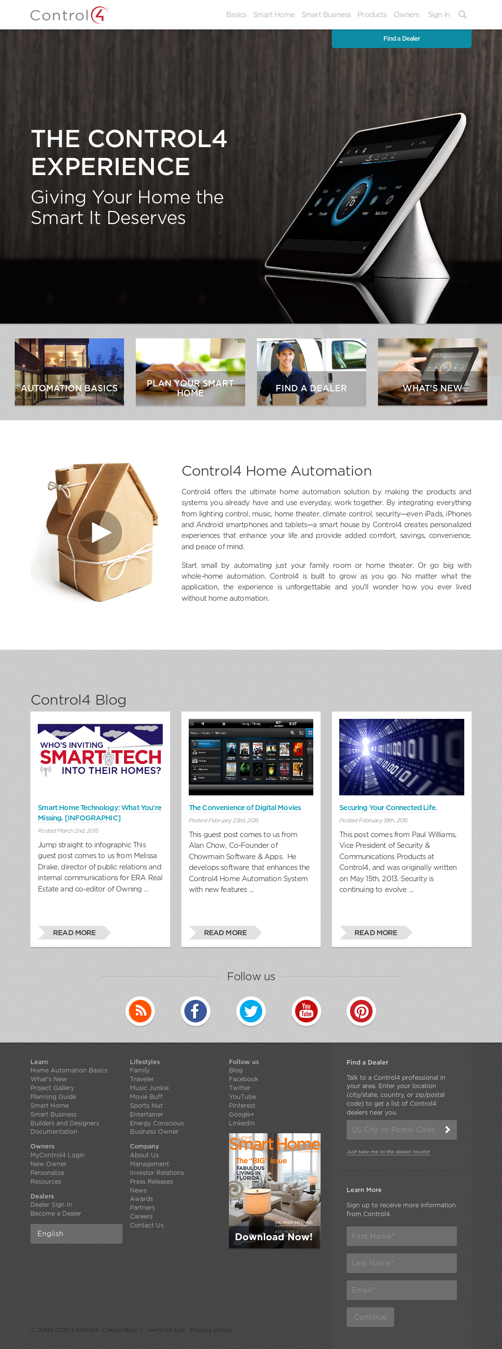 Control4 Competitors, Revenue and Employees - Owler Company