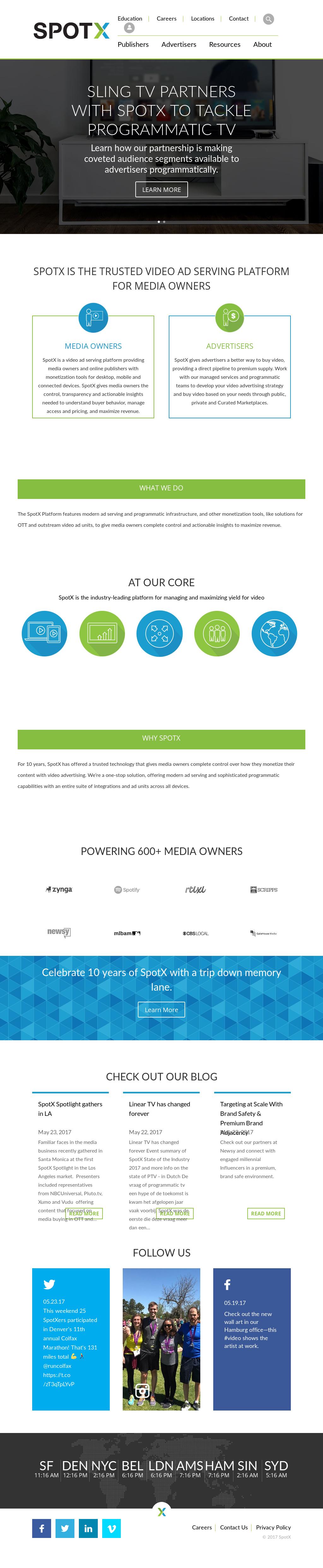 SpotX Competitors, Revenue and Employees - Owler Company Profile