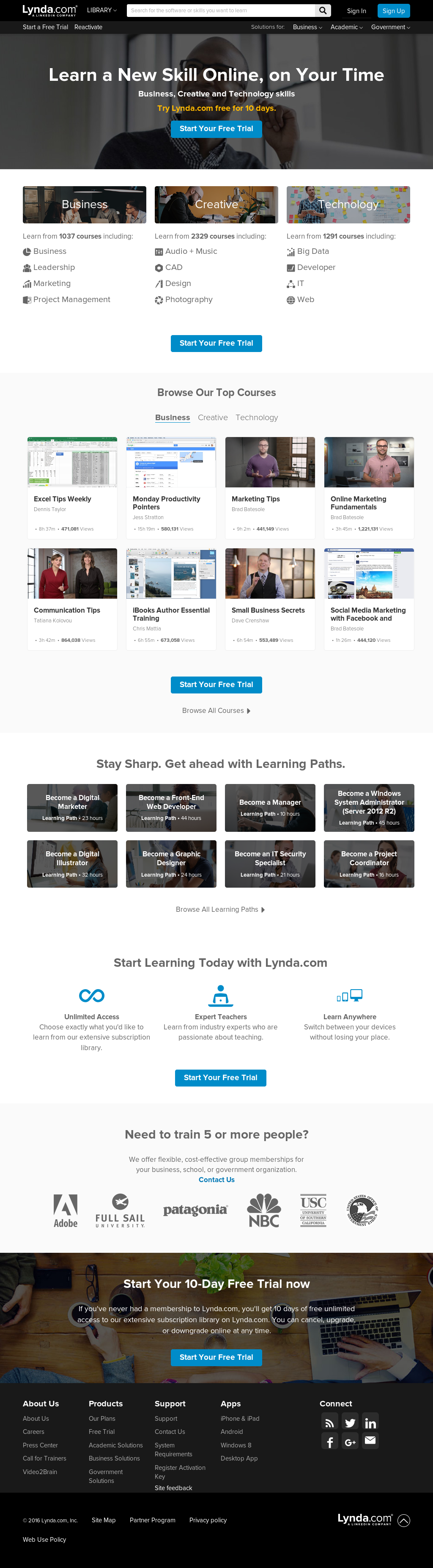 Lynda Competitors, Revenue and Employees - Owler Company Profile