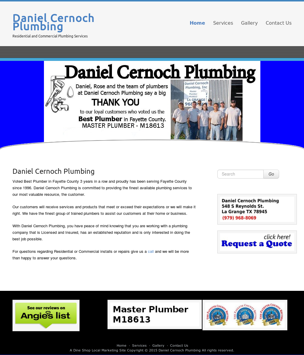 Daniel Cernoch Plumbing Competitors, Revenue and Employees - Owler