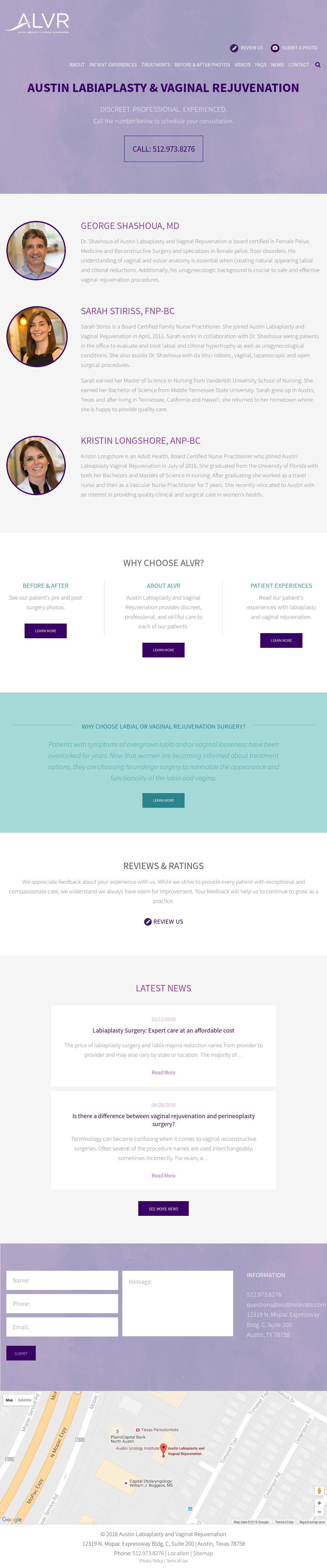 Austin Labiaplasty And Vaginal Rejuvenation Competitors, Revenue and