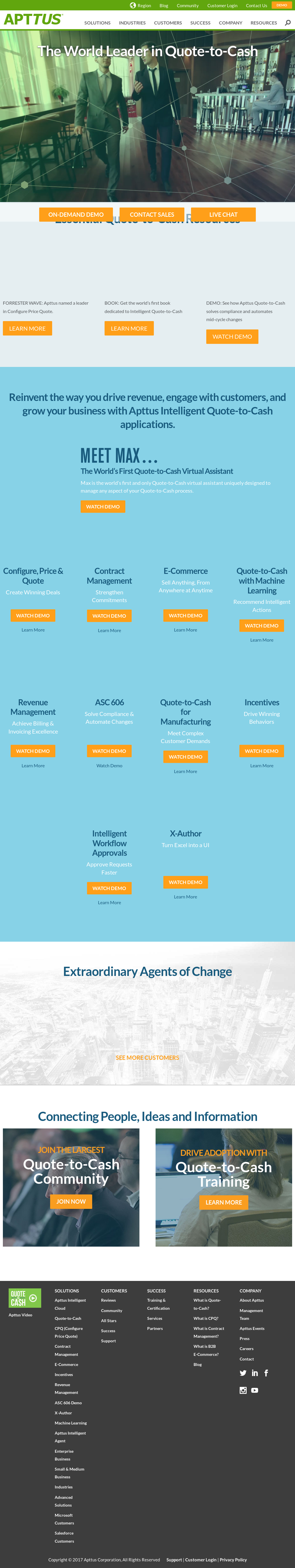 Apttus Competitors, Revenue and Employees - Owler Company