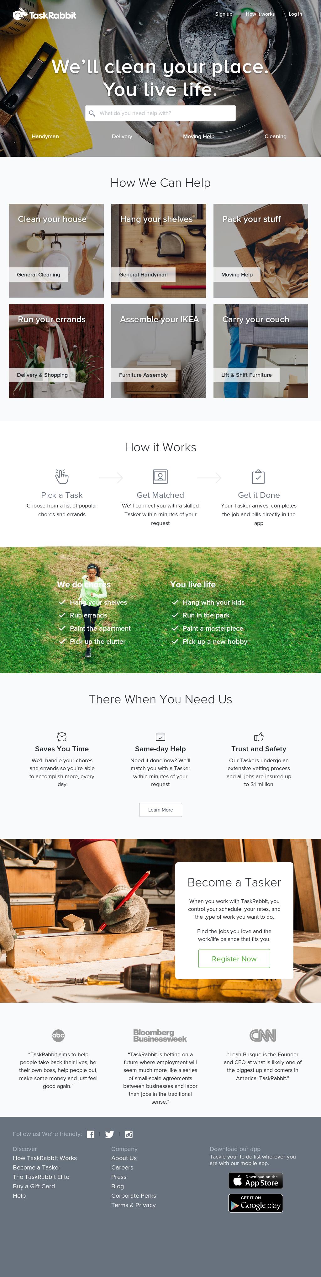 TaskRabbit Competitors, Revenue and Employees - Owler