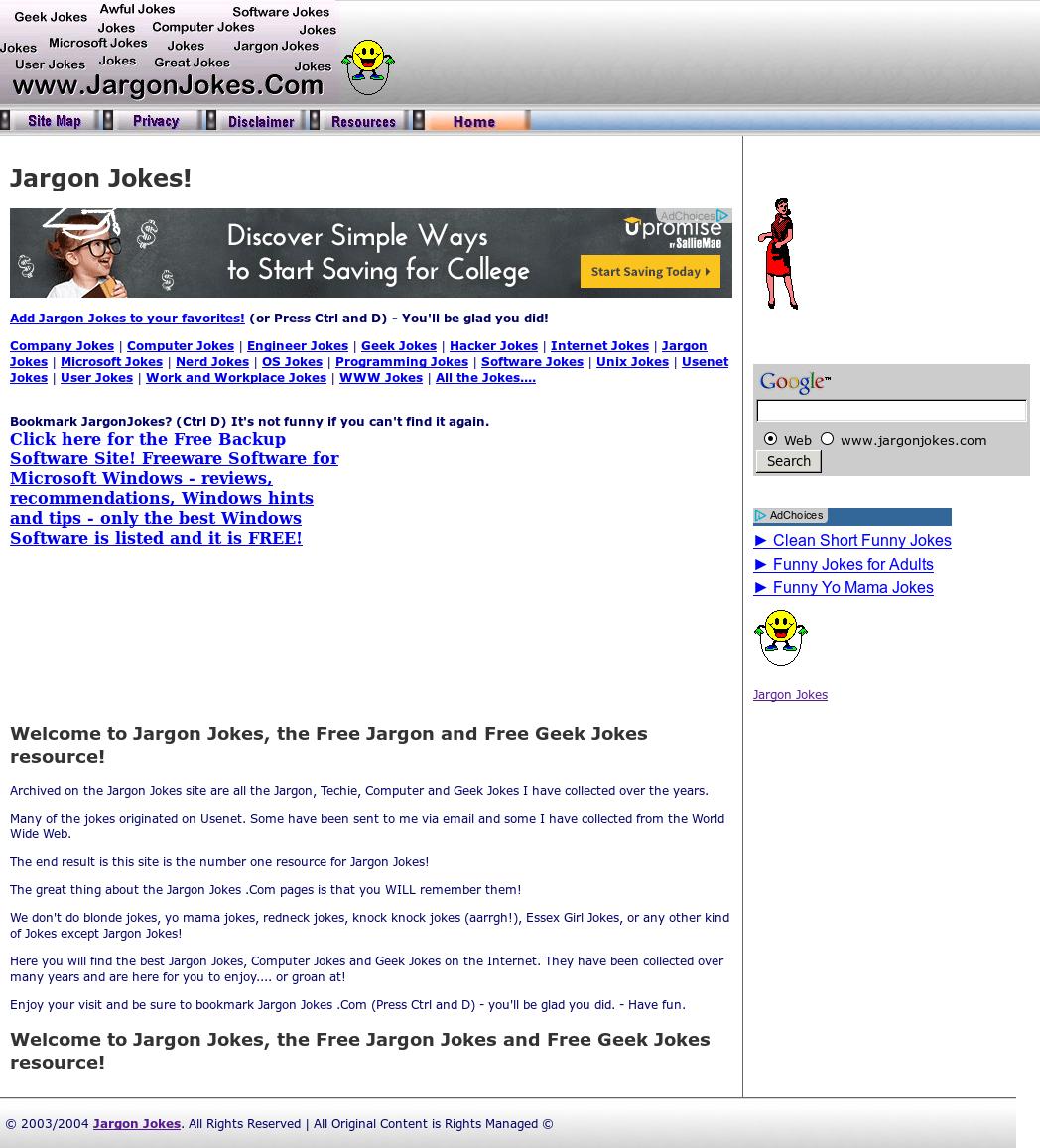 Jargon Jokes Competitors, Revenue and Employees - Owler Company Profile