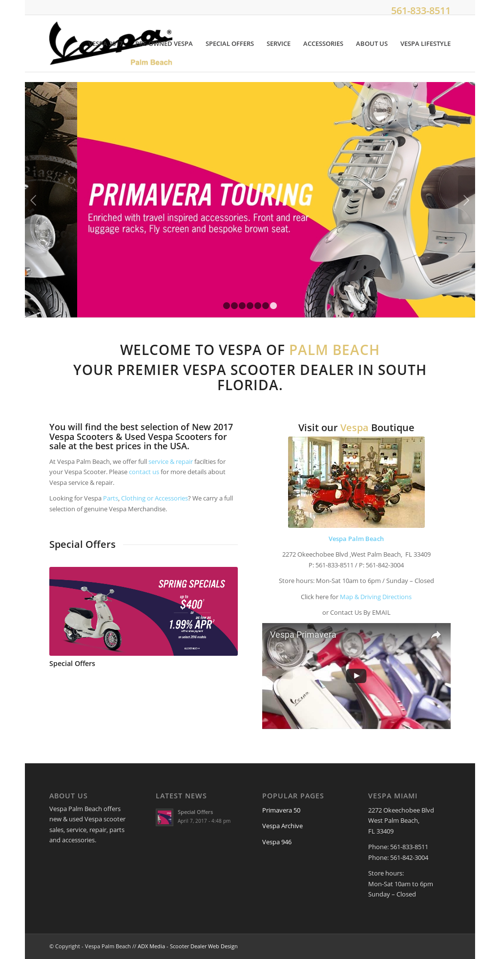 Vespa Palm Beach Compeors Revenue And Employees Owler Company