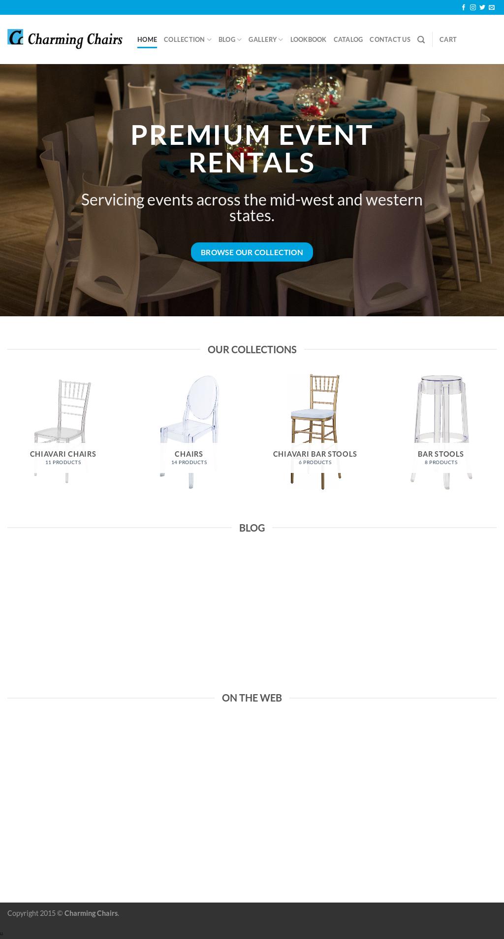 Charming Chairsu0027s Website Screenshot On Sep 2017