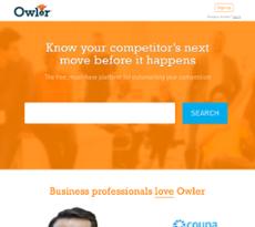 Owler website history