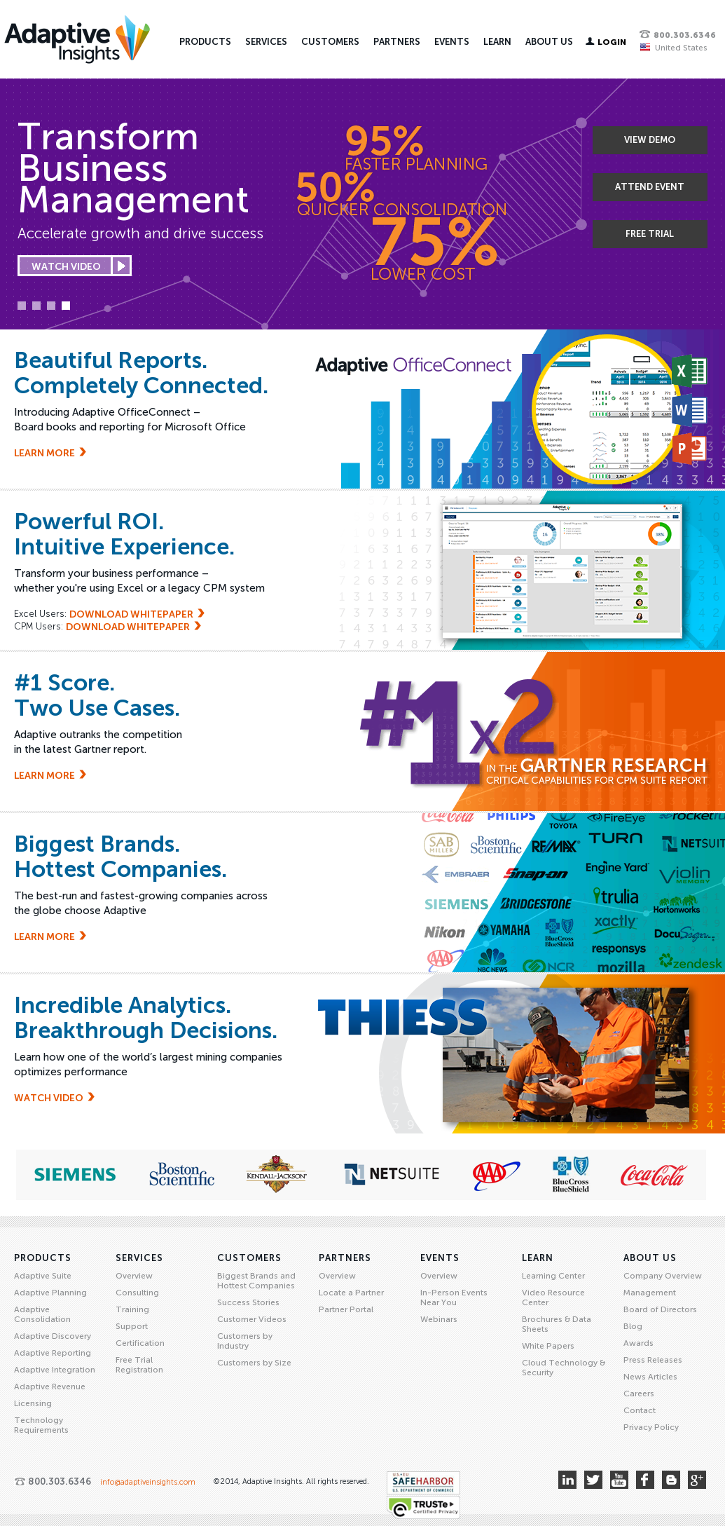 Owler Reports Press Release Adaptive Insights Adaptive Insights