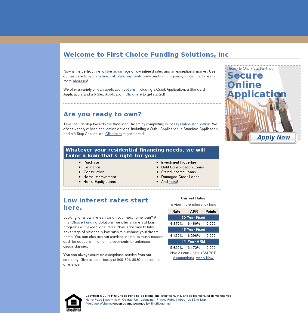 First Choice Funding Solutions S Competitors Revenue Number Of Employees Funding Acquisitions News Owler Company Profile