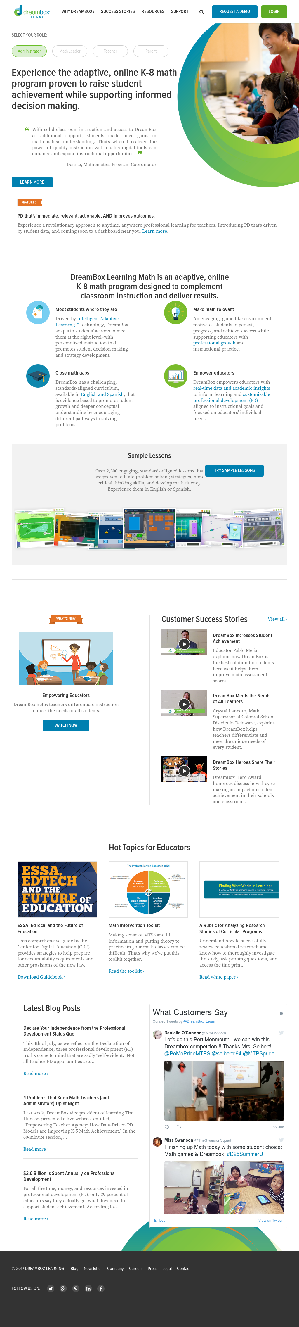DreamBox Learning Competitors, Revenue and Employees - Owler Company