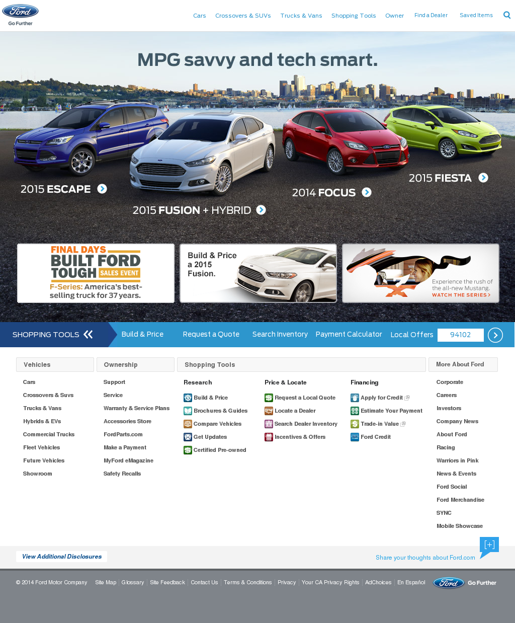 Ford motor company profile owler for Ford motor company description