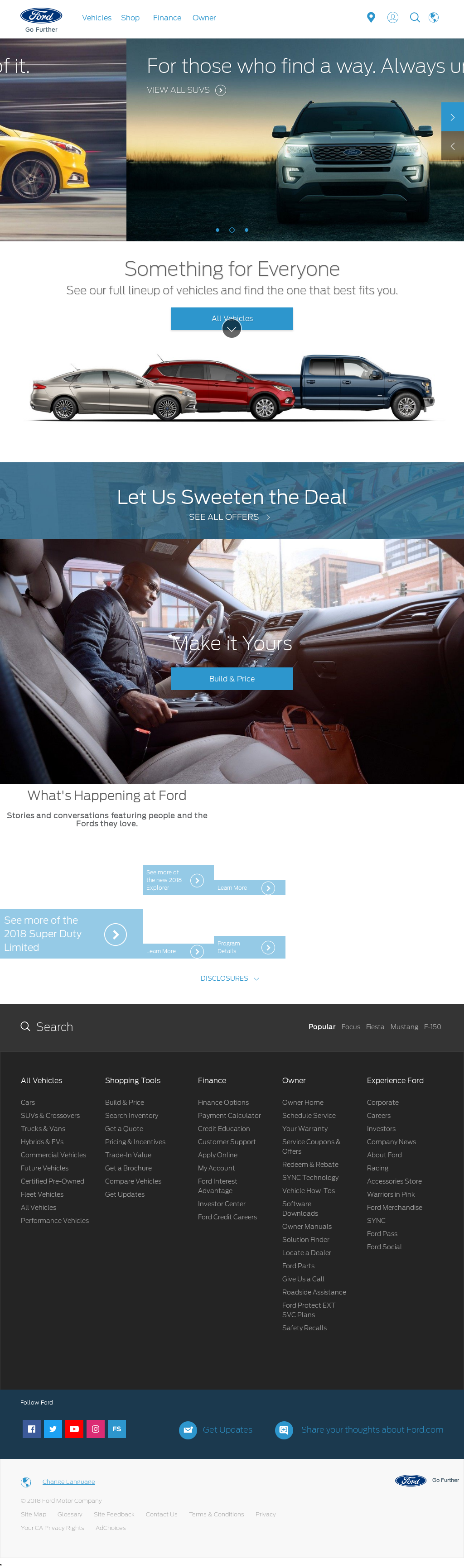 Ford motor competitors revenue and employees owler for Ford motor company employee website