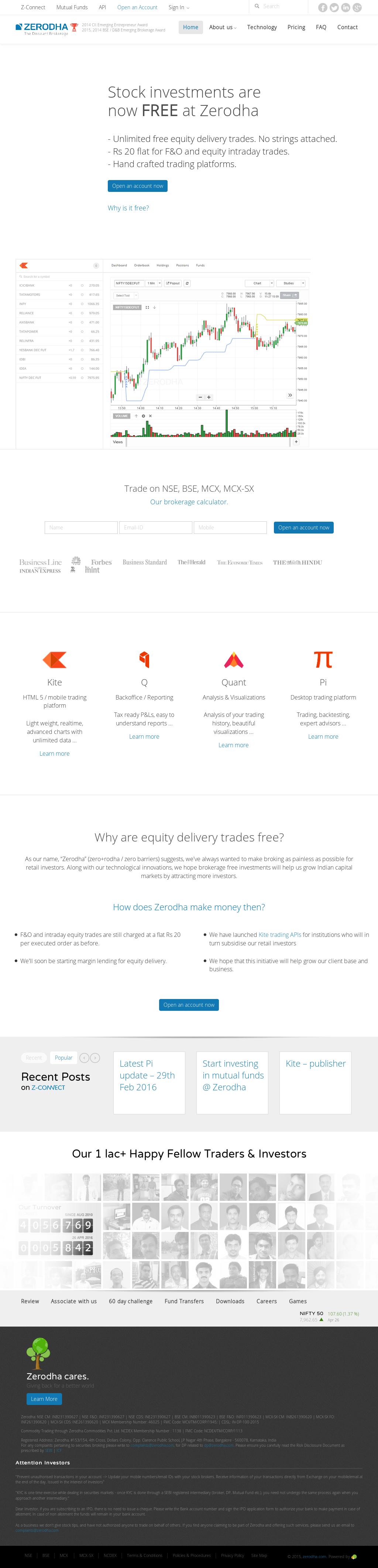 Zerodha Competitors, Revenue and Employees - Owler Company Profile