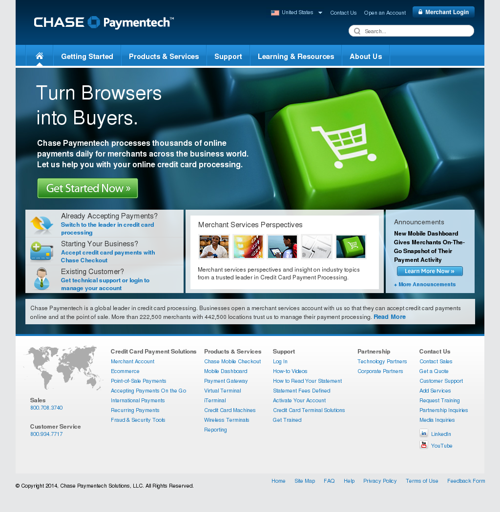 Chase Paymentech Competitors, Revenue and Employees - Owler Company