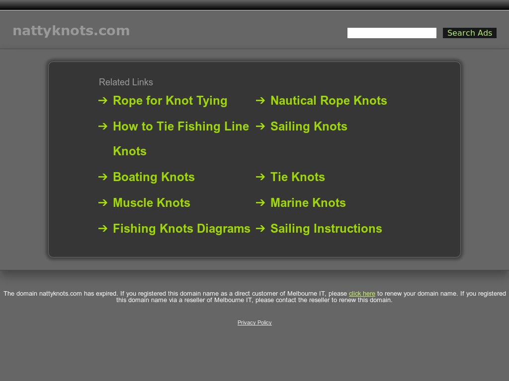 Natty Knots Competitors Revenue And Employees Owler Company Profile Knot Tying Diagrams Website History