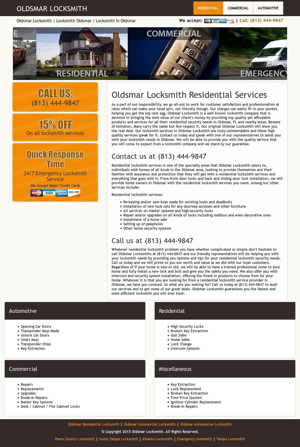 Oldsmar Locksmith Competitors, Revenue and Employees - Owler