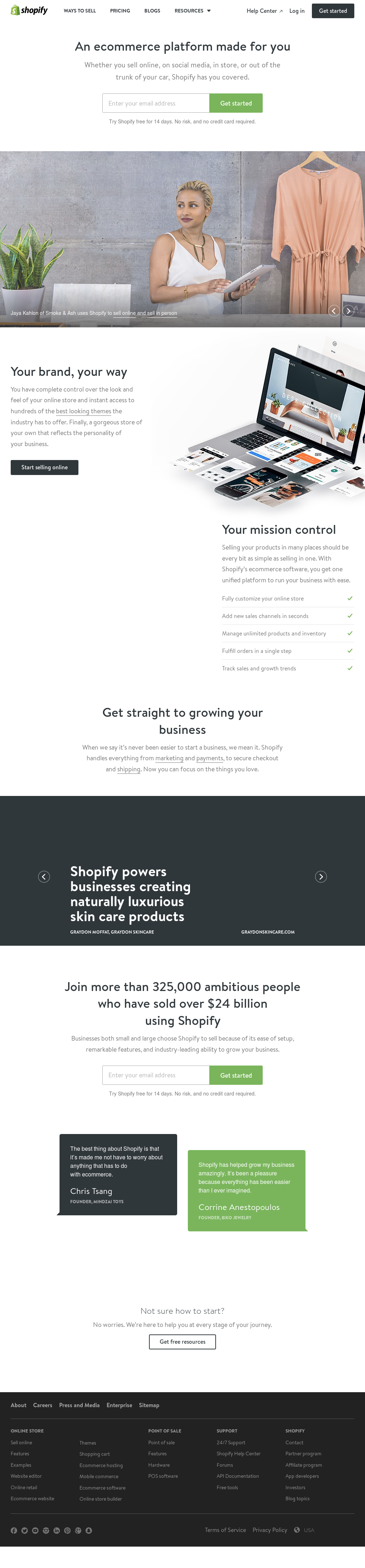 Shopify Competitors, Revenue and Employees - Owler Company Profile