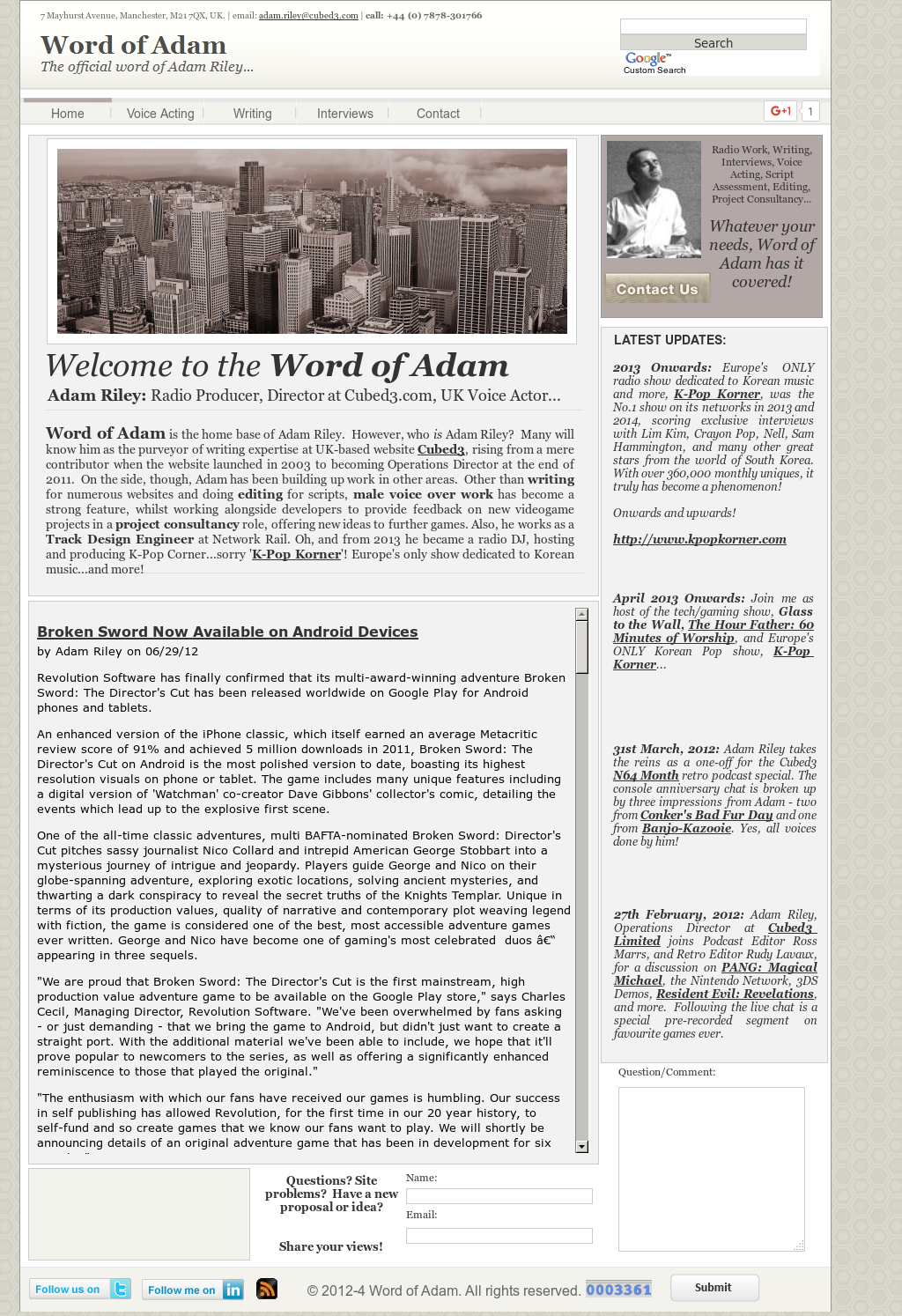 Word Of Adam Competitors, Revenue and Employees - Owler