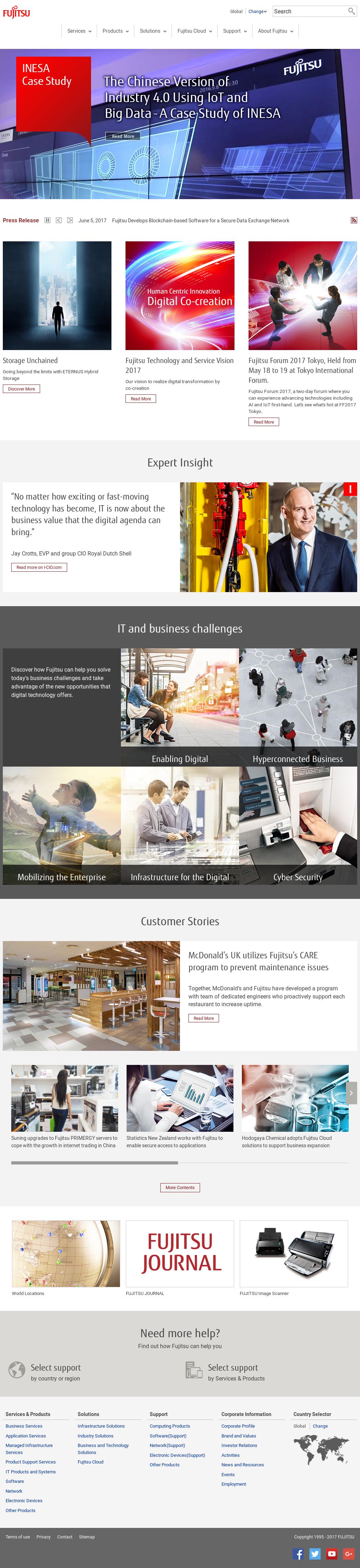 Fujitsu Competitors, Revenue and Employees - Owler Company Profile