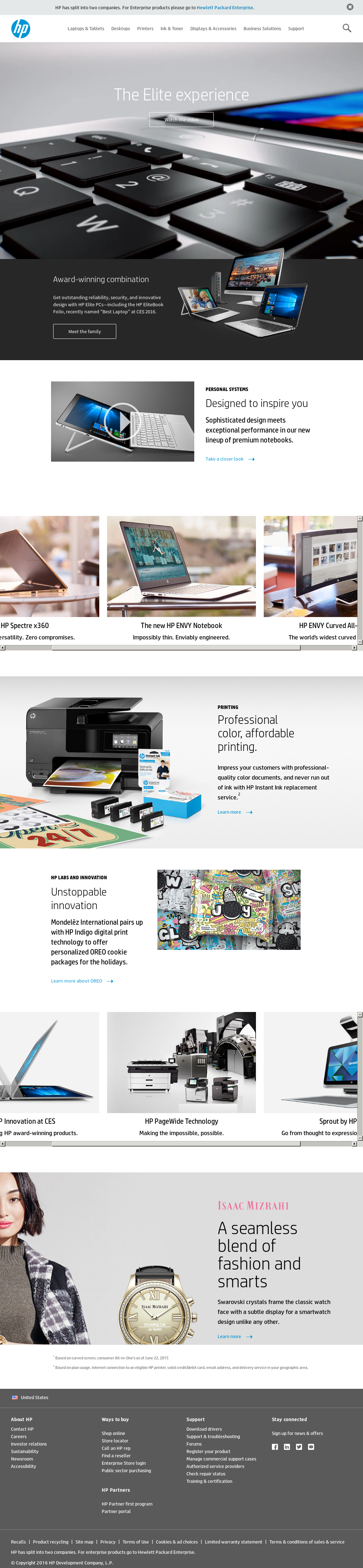the history of the reorganization of the hp company Research or buy hp printers, desktops, laptops, servers, storage, enterprise solutions and more at the official hewlett-packard website.