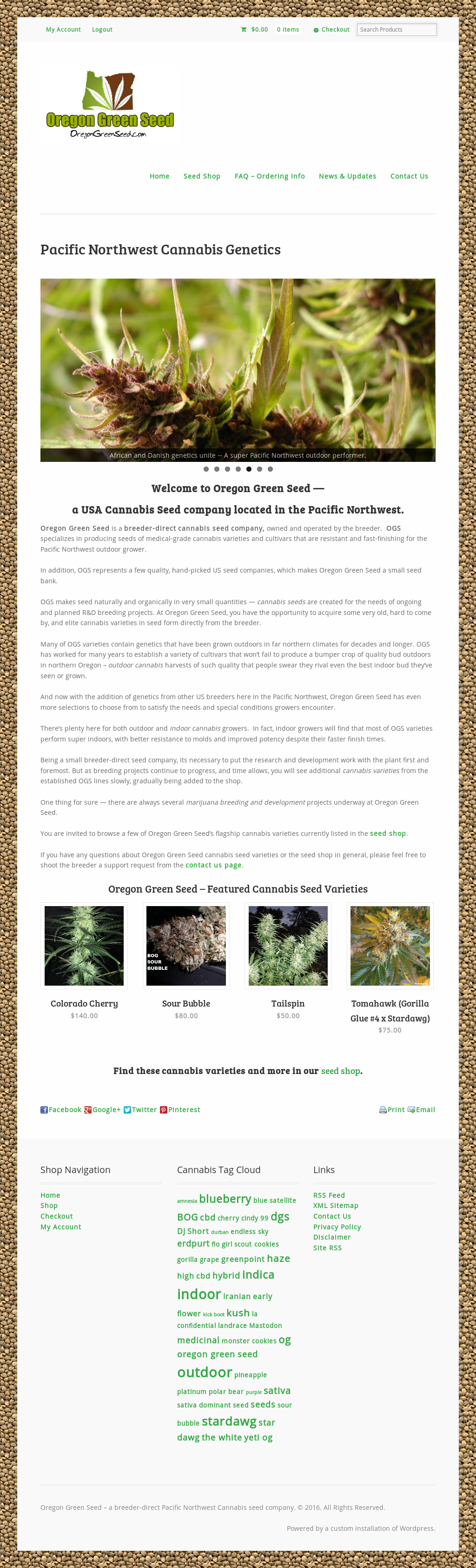 Owler Reports - Oregon Green Seed Blog OGS – HIGH CBD Hemp Seed