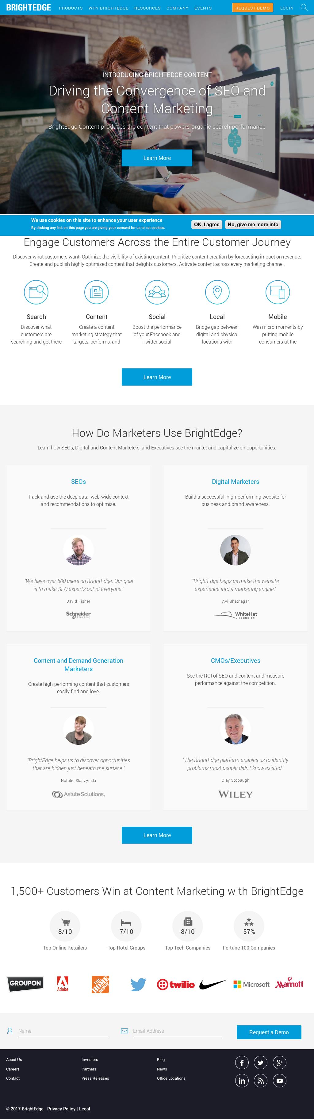Brightedge Competitors Revenue And Employees Owler Company Profile