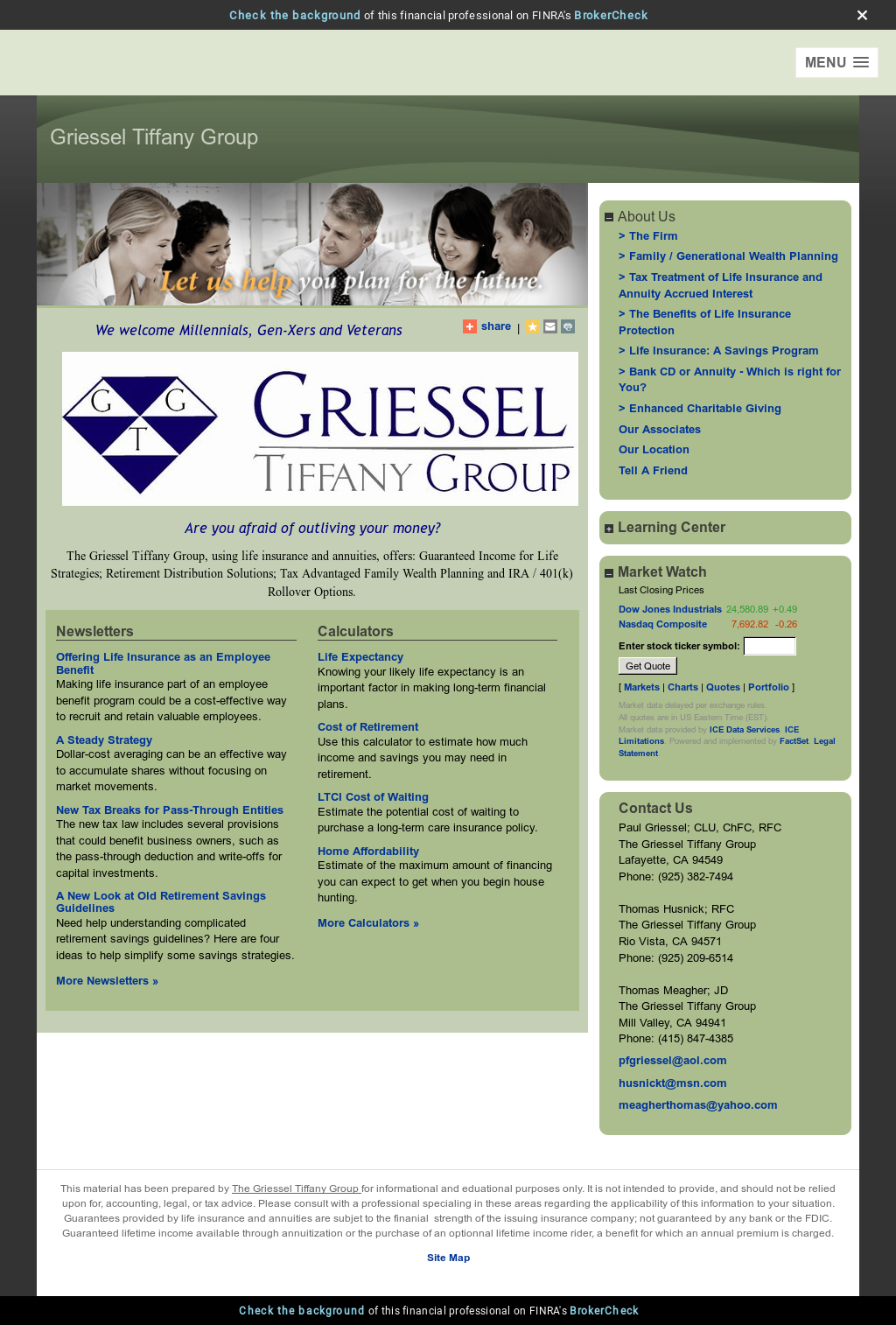 Griessel Tiffany Group Competitors Revenue And Employees Owler