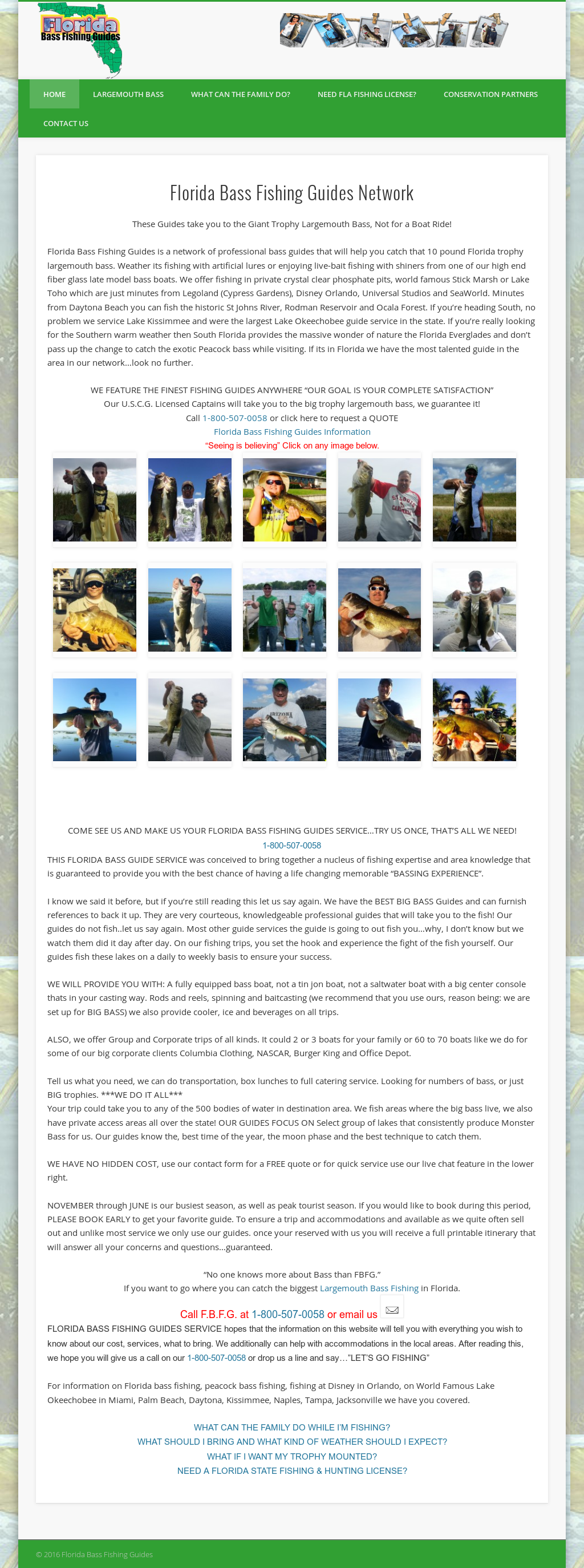 Florida Bass Fishing Guides Competitors, Revenue and Employees ...