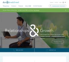 Dun & Bradstreet website history