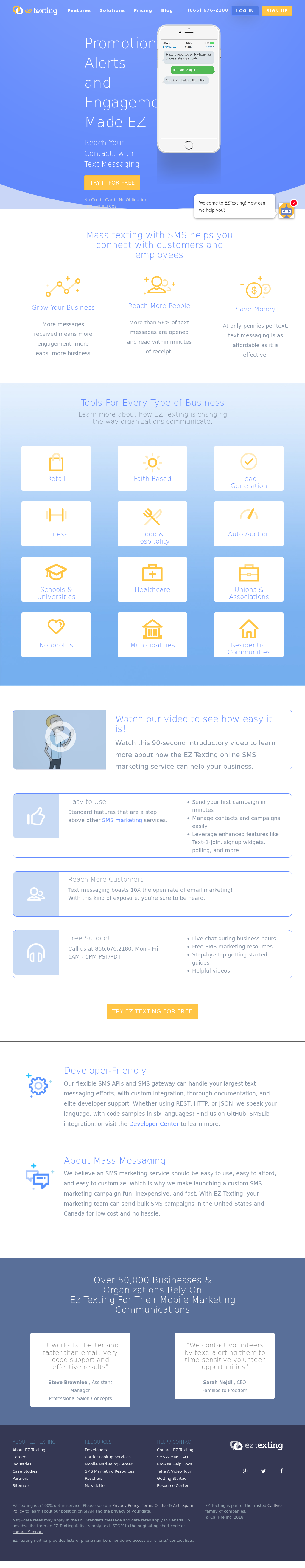 EZ Texting Competitors, Revenue and Employees - Owler