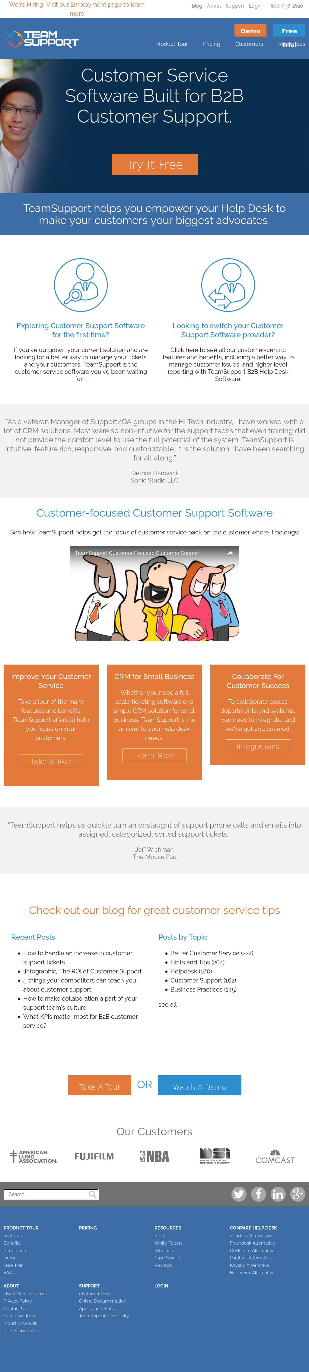 teamsupport competitors revenue and employees owler company profile