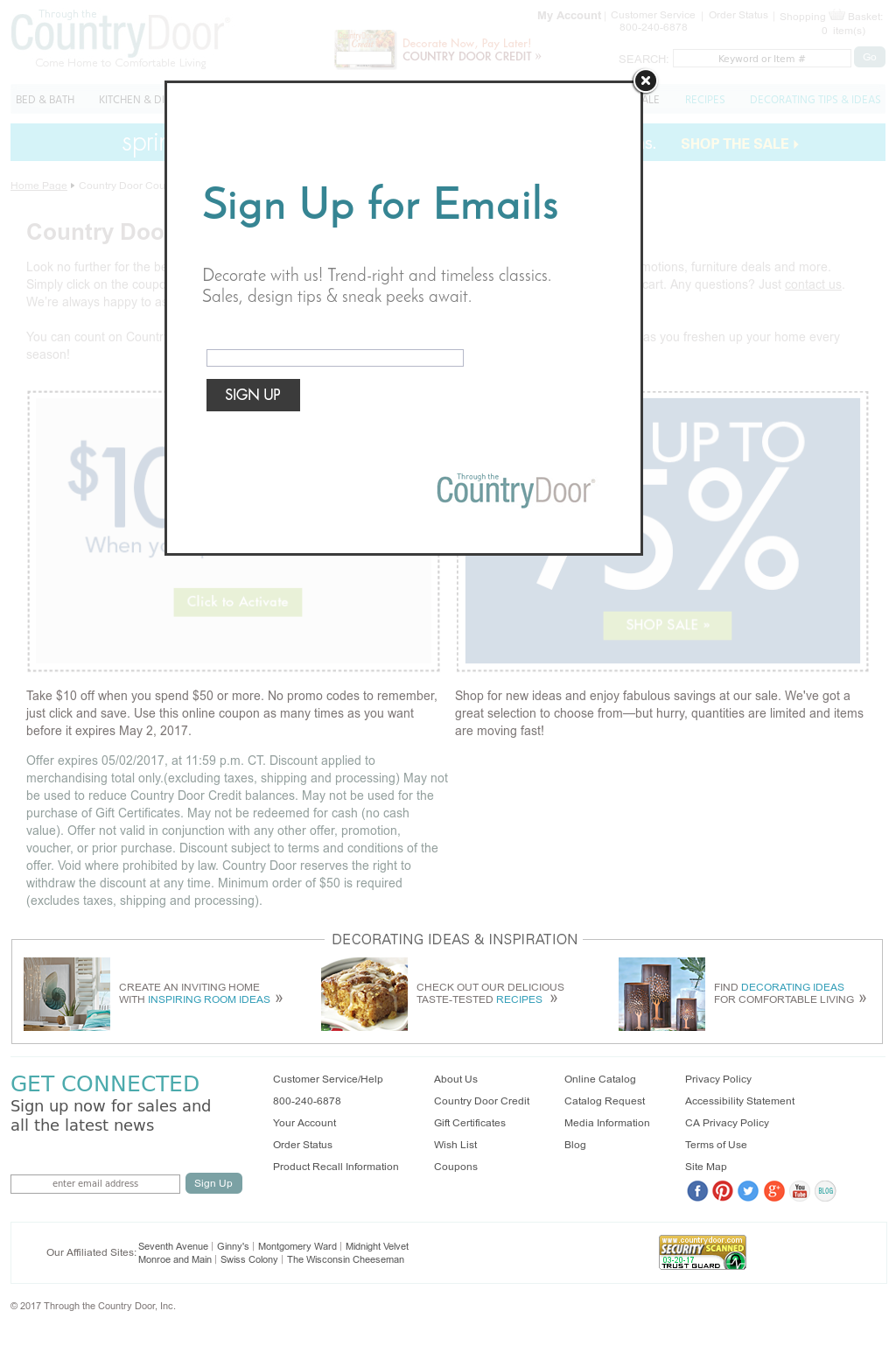 Country Door Coupons Competitors Revenue And Employees Owler