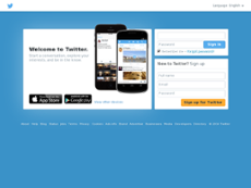 Twitter website history