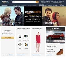 Amazon website history