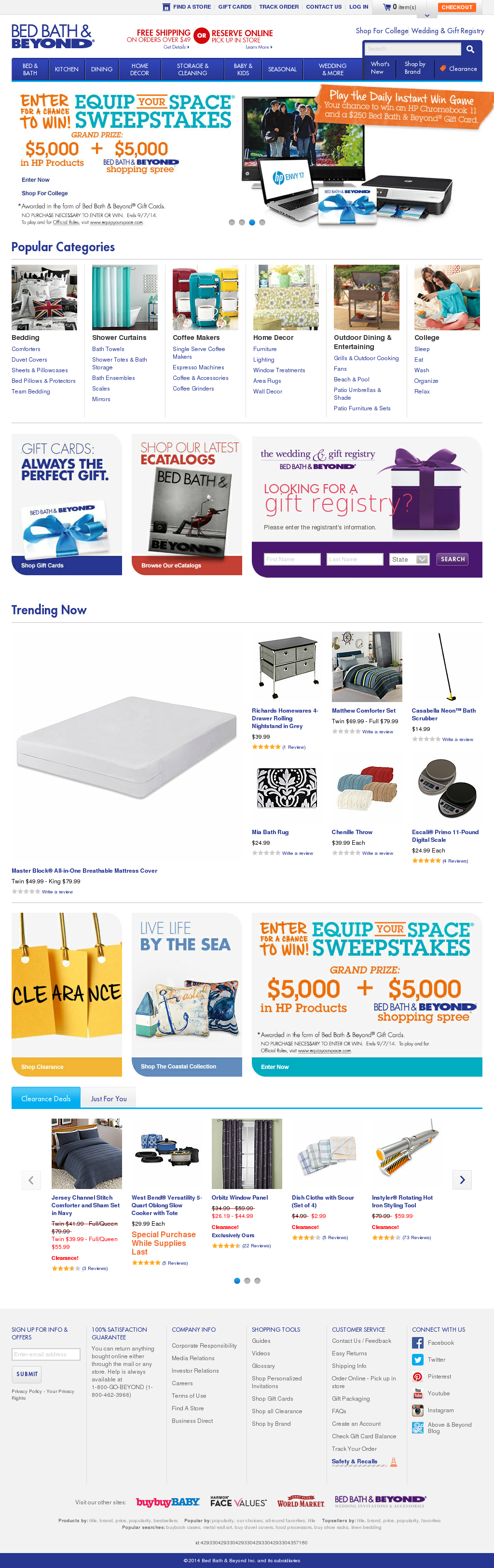 Bed Bath Beyond Profile and Review