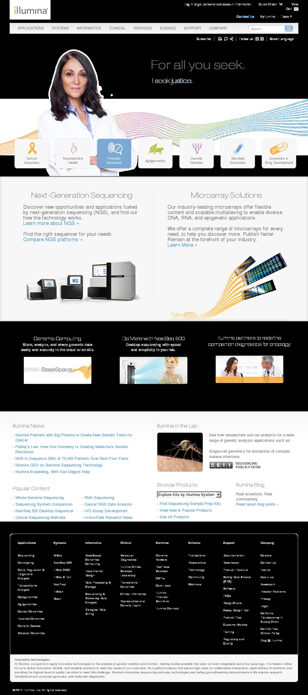 Illumina Competitors, Revenue and Employees - Owler Company